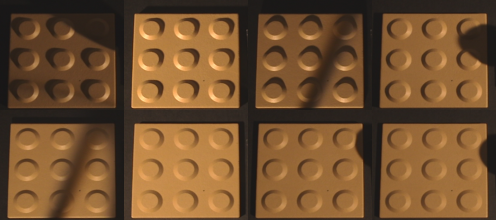Few of the input images (data02). Fixed object and fixed camera but varying illumination direction